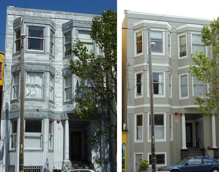 Castro District (Before & After)